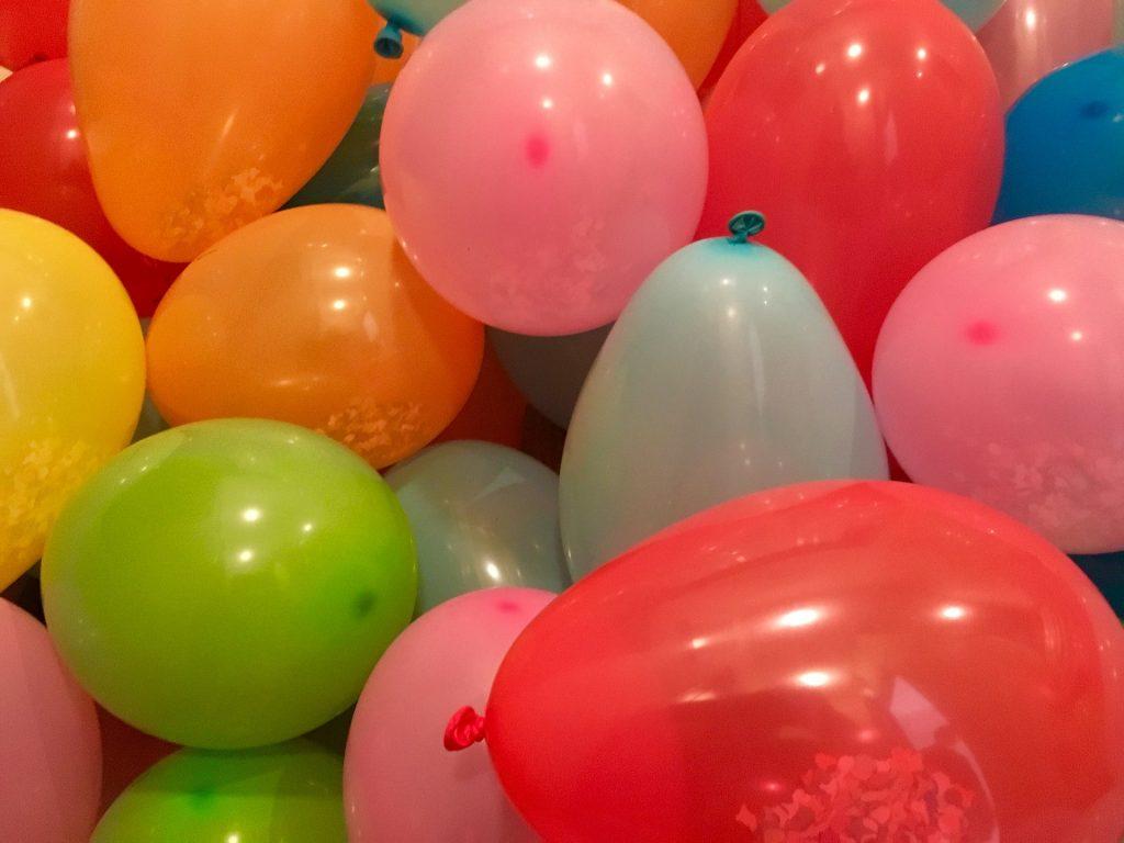Feest, ballonnen