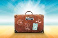 Vakantie, koffer, bagage