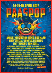 Poster Paaspop 2017