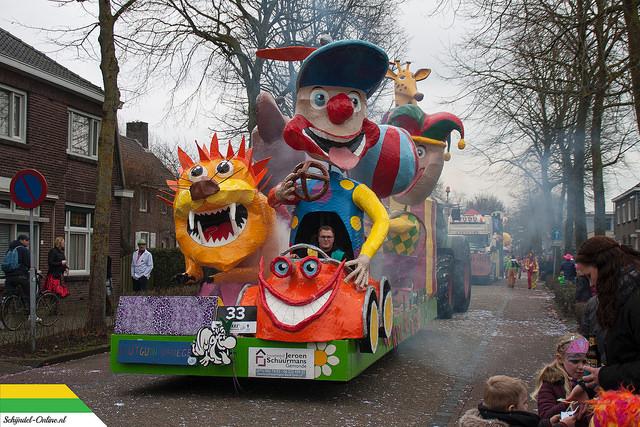 carnaval optocht Schijndel 2017