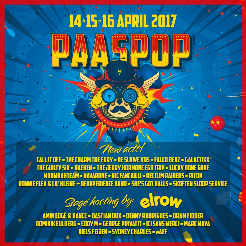 Nieuwe namen Paaspop