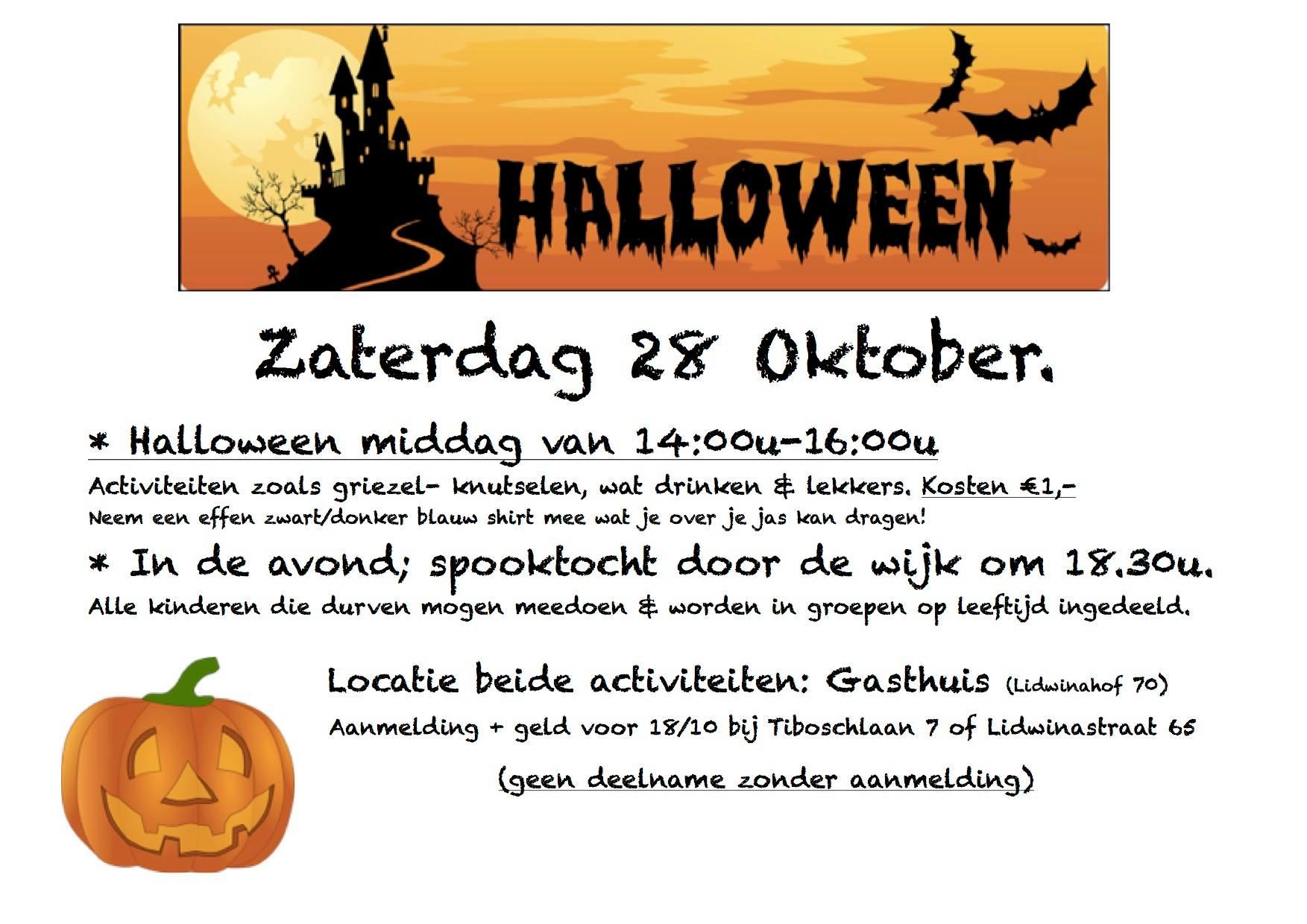 Halloween, Bonkelaar