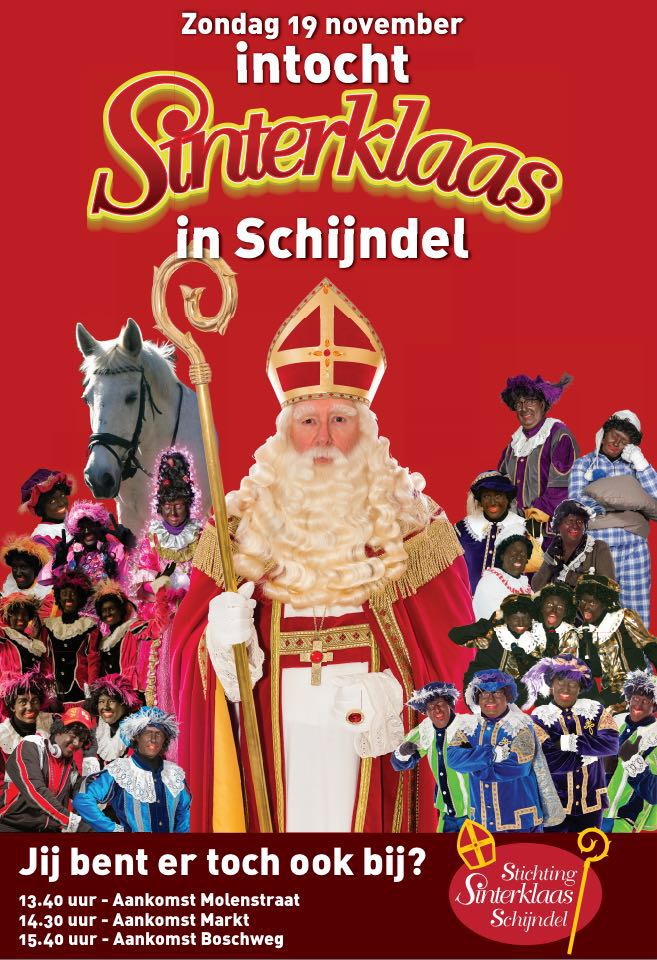 Sinterklaas, Intocht