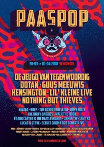 poster paaspop 2018