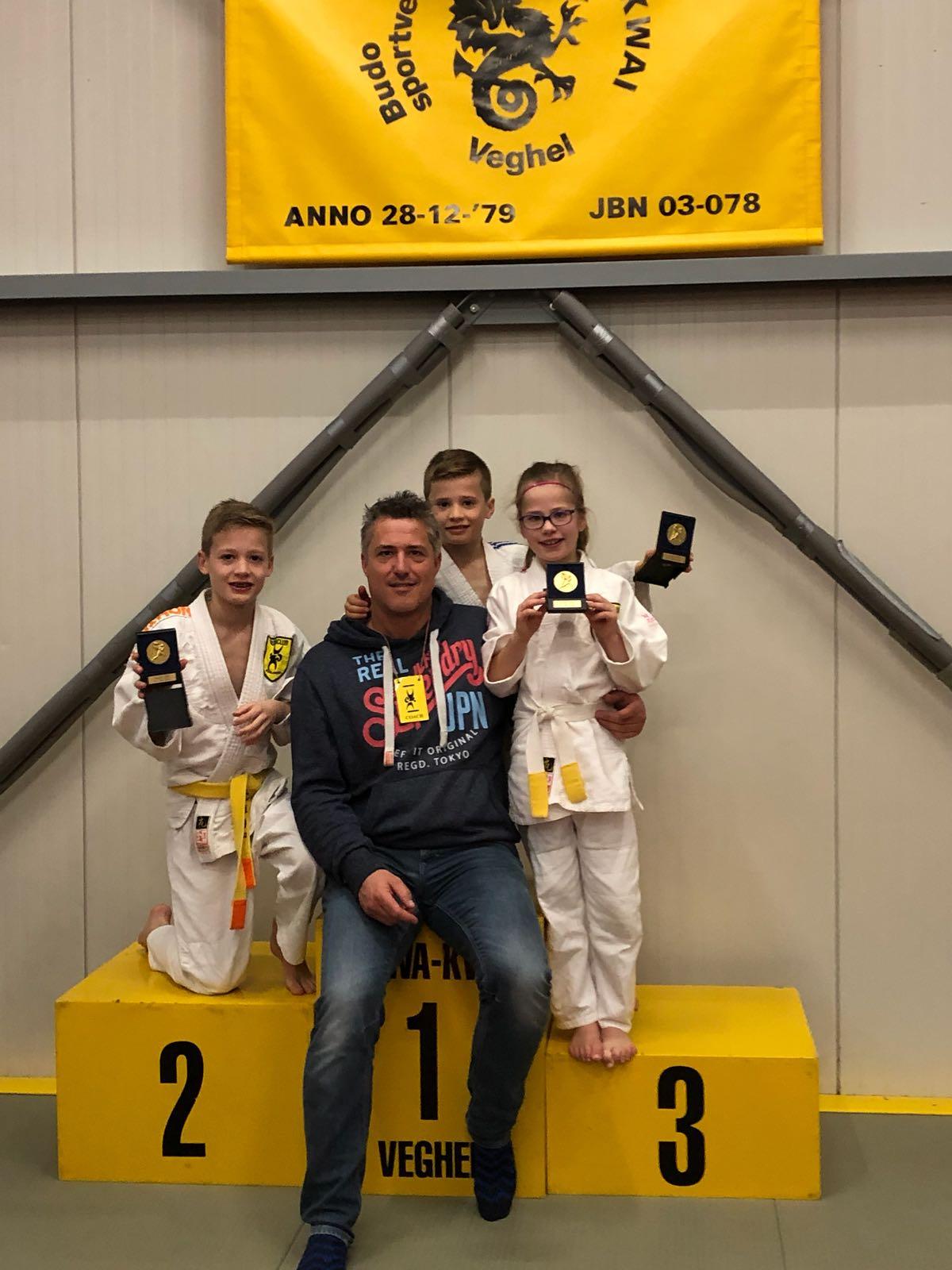 Budoclub Schijndel, Judo, Veghel