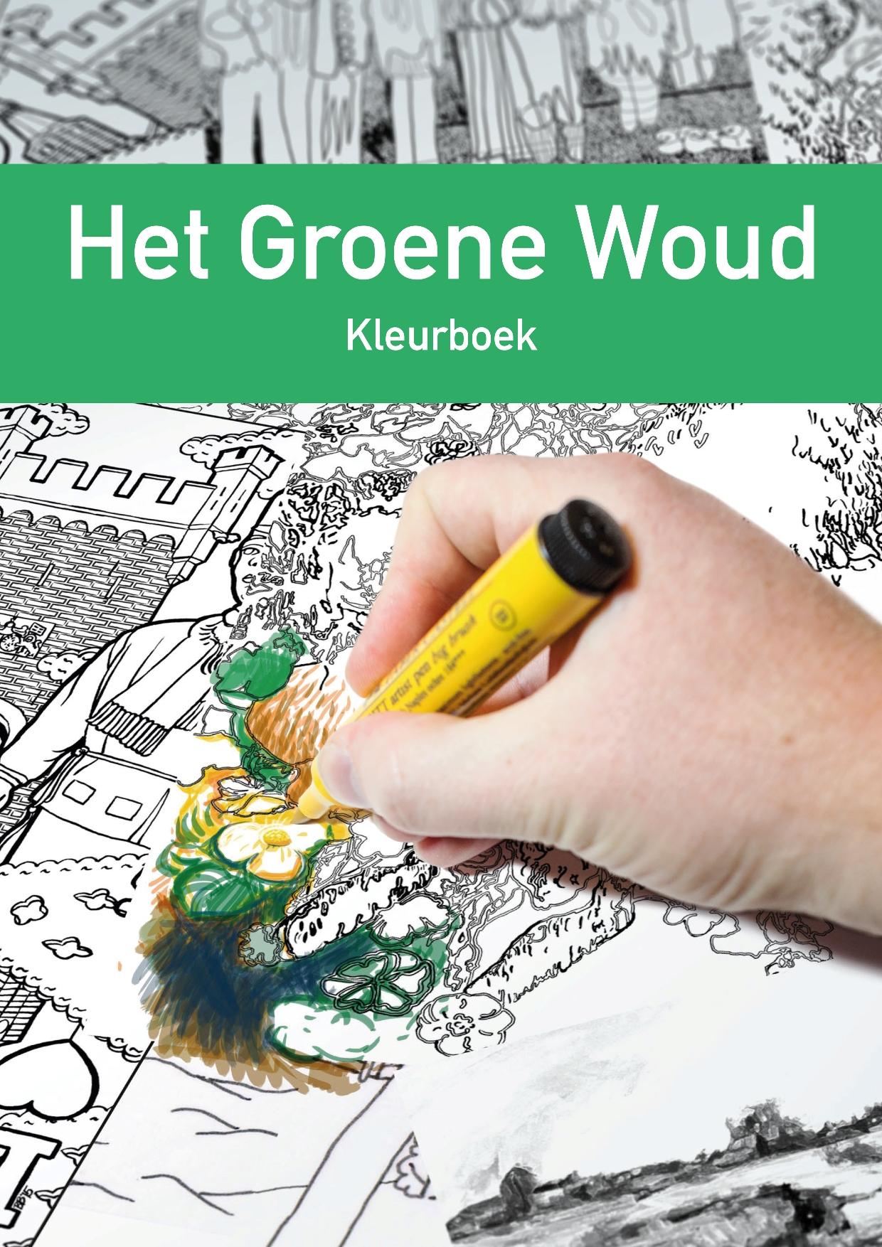 VVV, Kleurboek Het Groene Woud