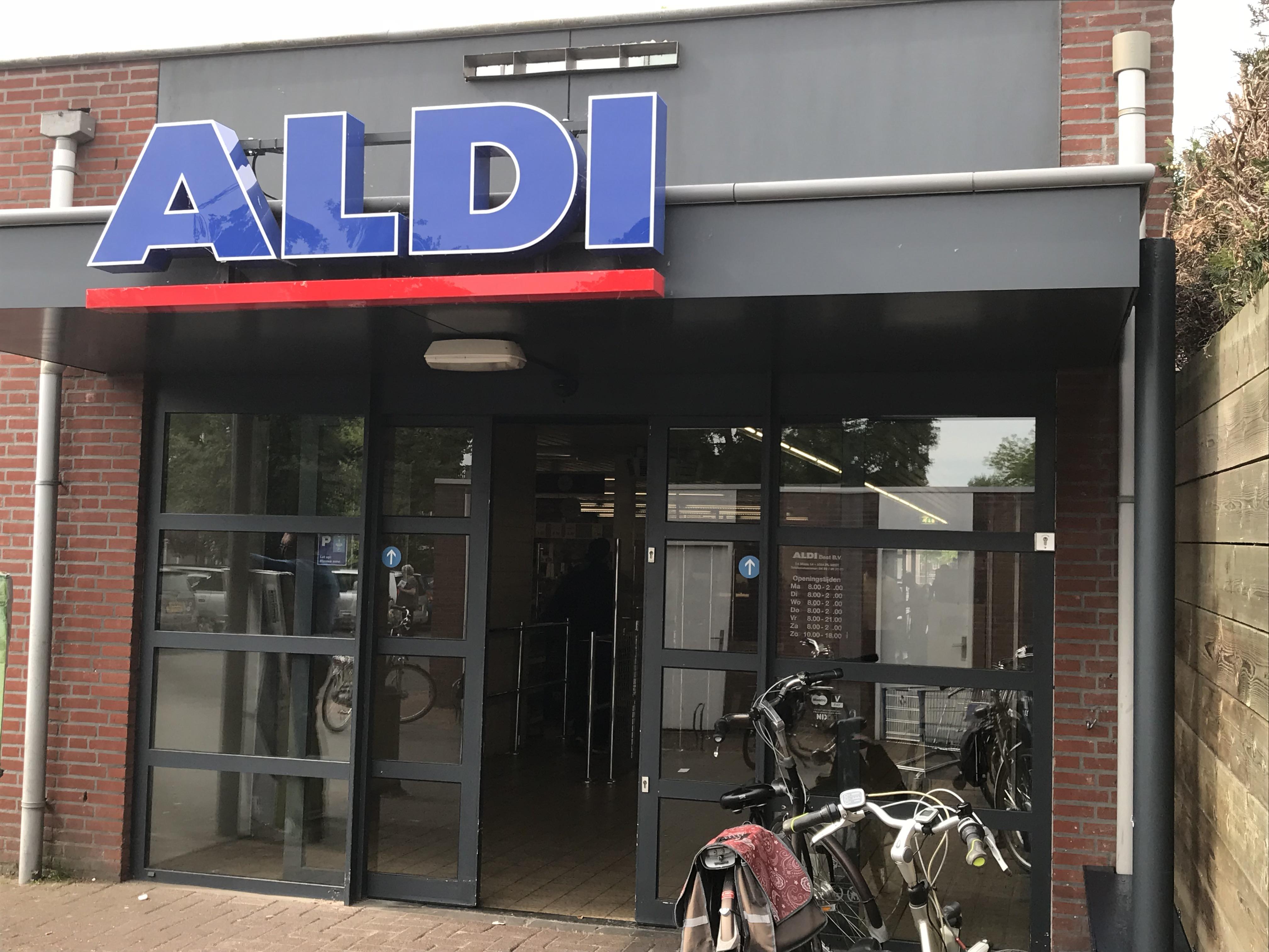 Aldi, Supermarkt