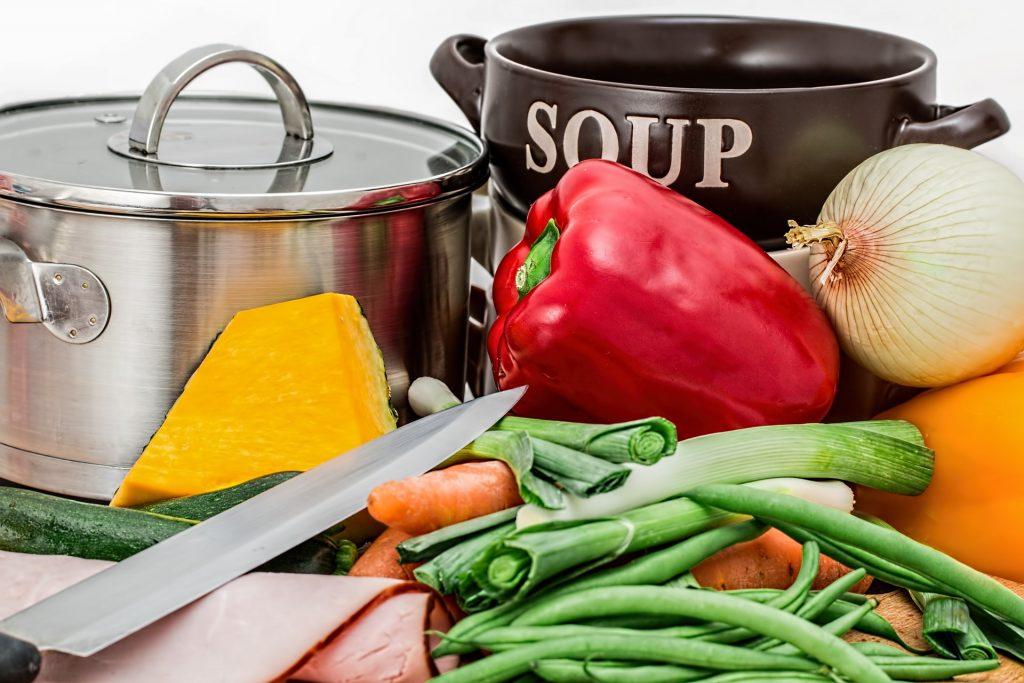 Koken, eten, keuken
