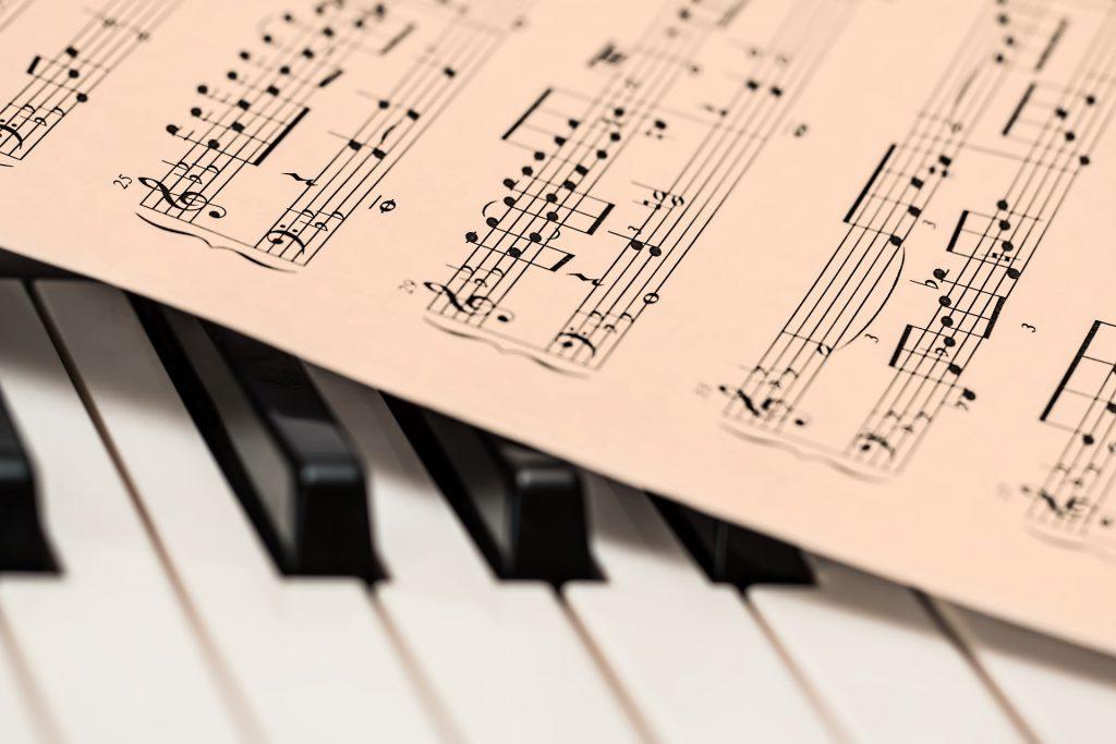 Piano, Muziek