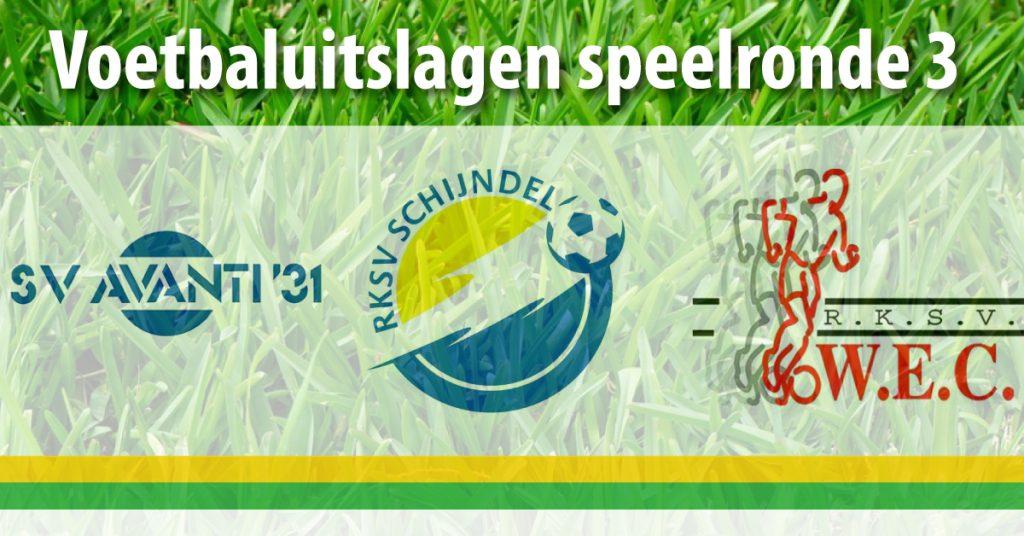 Voetbaluitslagen-speelronde-3