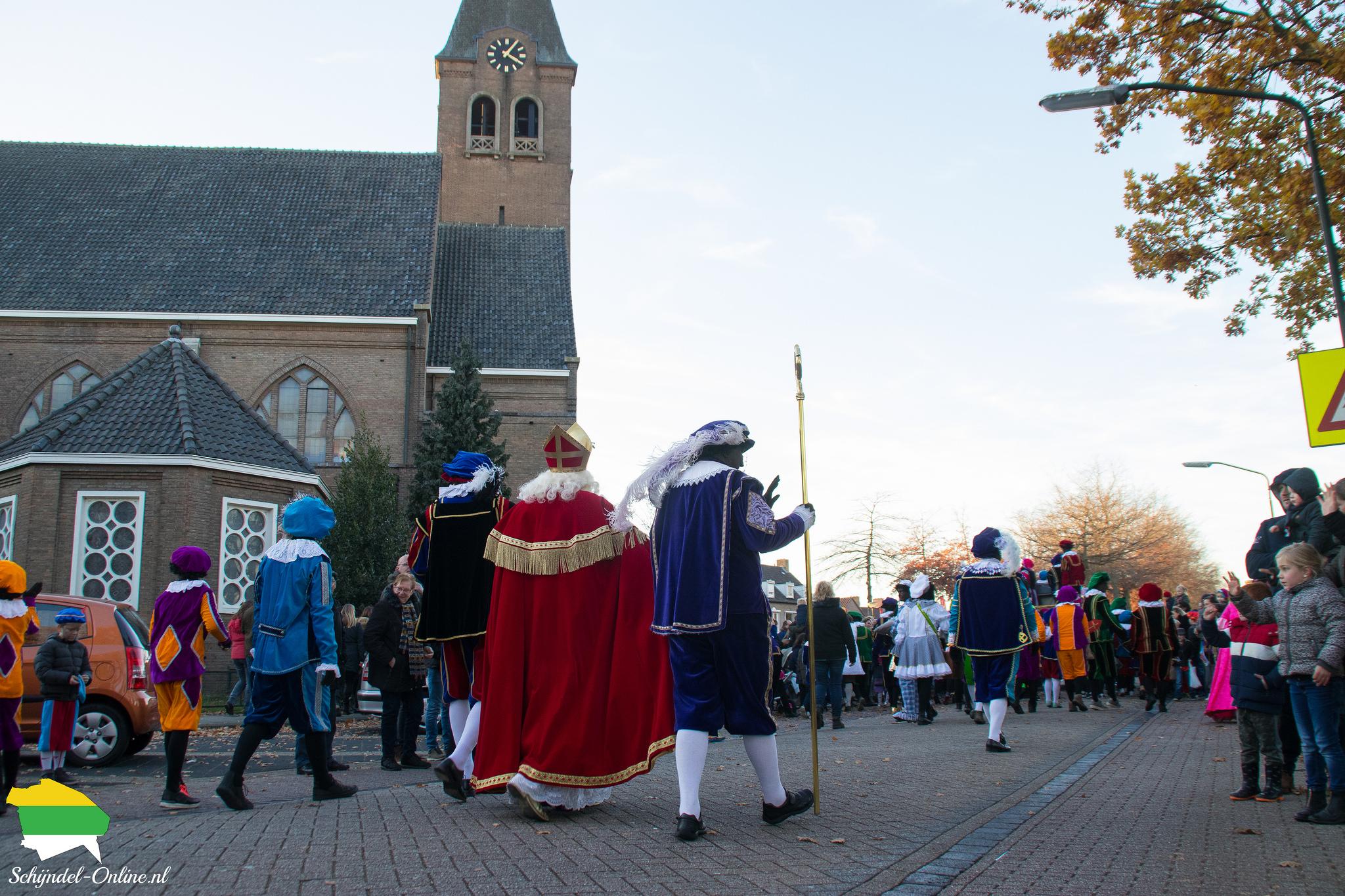 Intocht Sinterklaas boschweg Schijndel