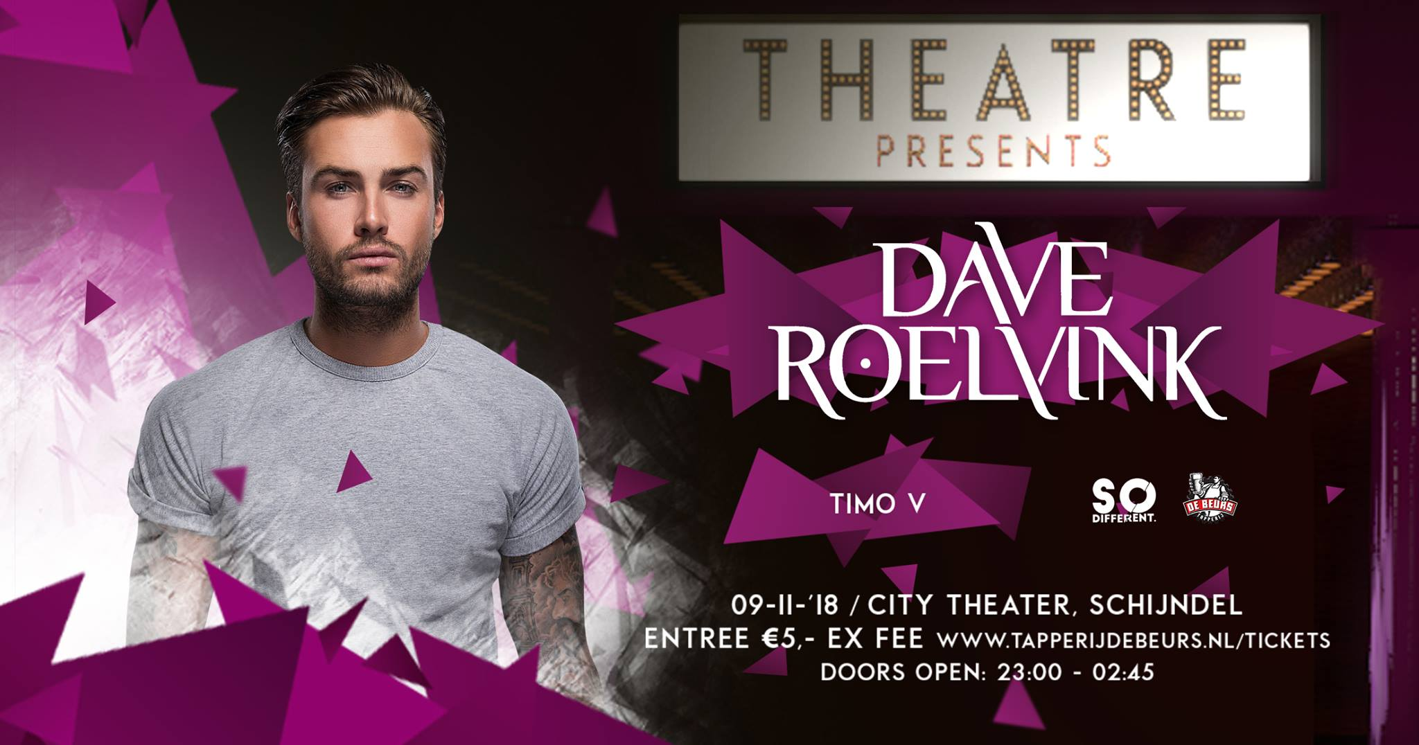 City Theater, Dave Roelvink