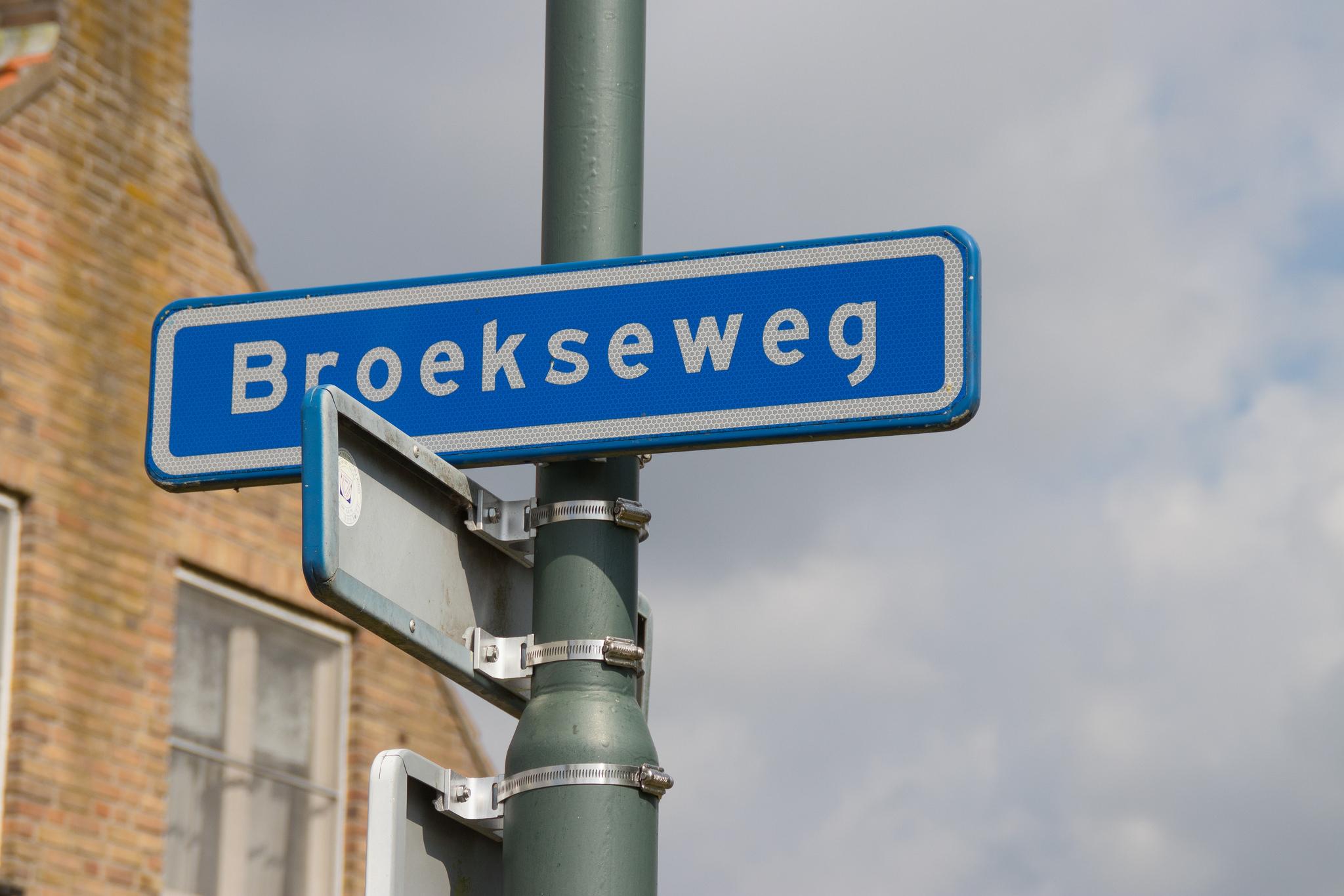 Broekseweg, Straatnaam