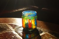 Potje, Glas, Versieren