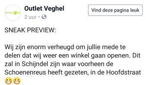 outlet veghel facebook