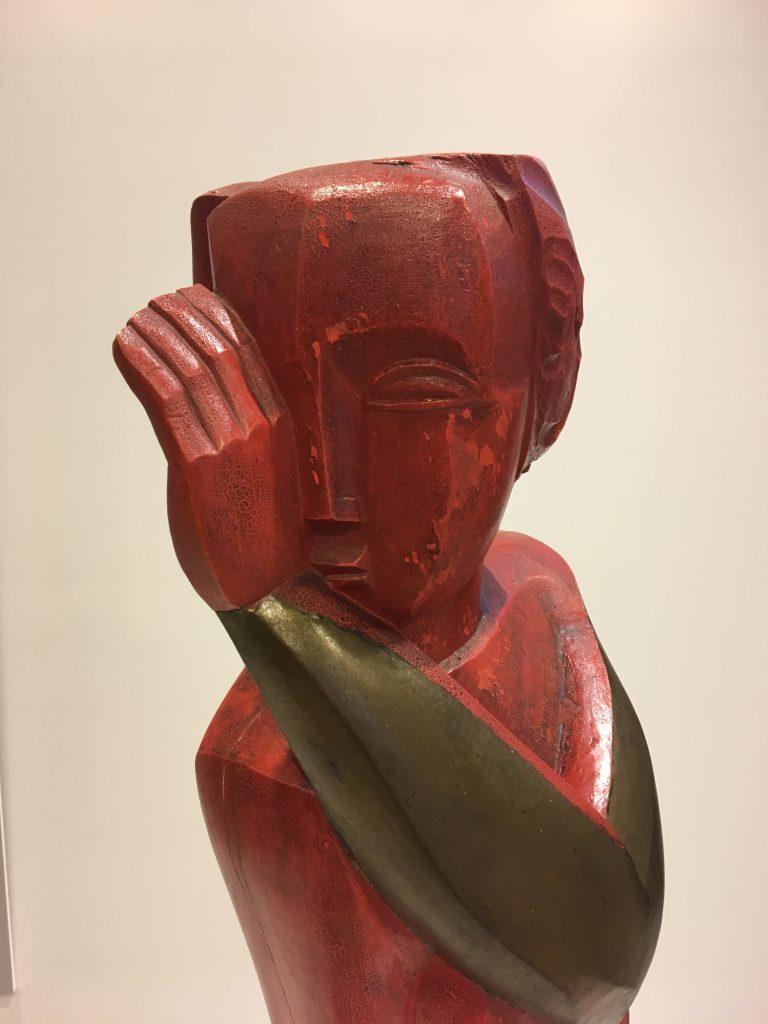 ozef Cantré, Staand naakt, houten beeld