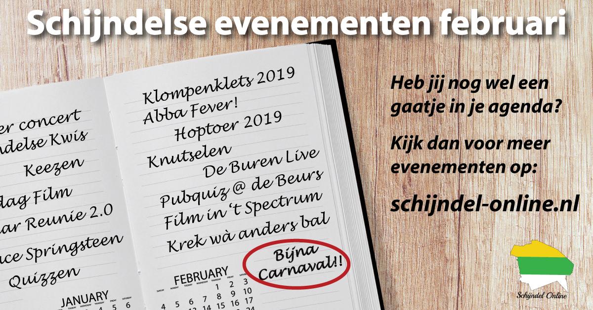 Evenementen Schijndel februari 2019