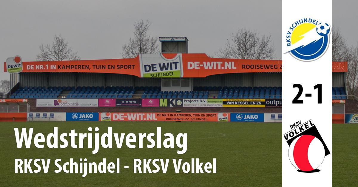 Wedstrijdverslag RKSV Schijndel