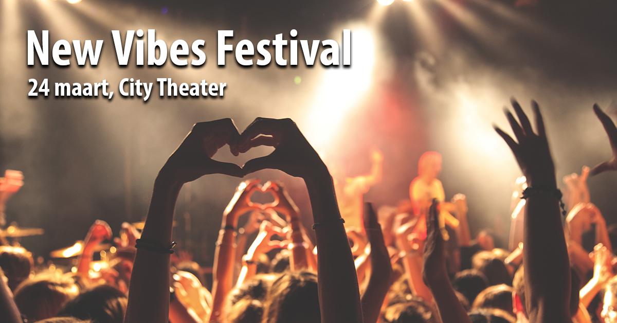 New Vibes Festival Schijndel banner