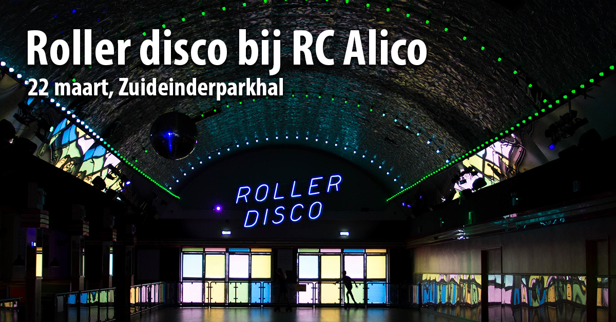 Rollerdisco RC Alico 22 maart 2019