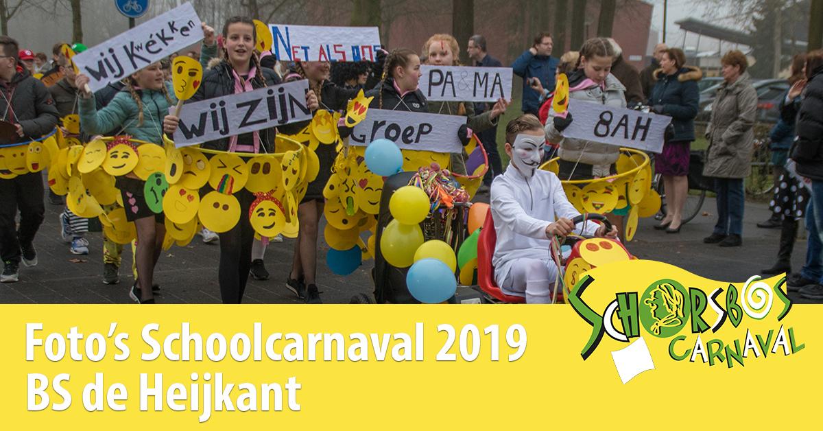 Schoolcarnaval de Heijkant