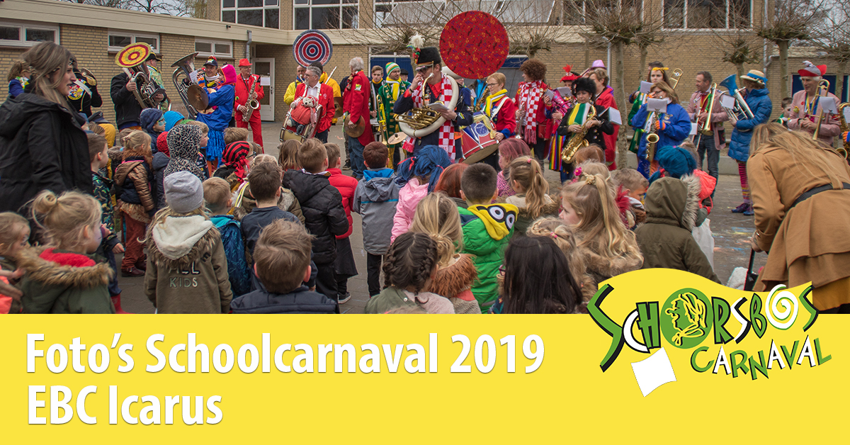 Schoolcarnaval ebc icarus