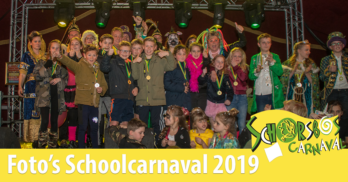 Schoolcarnaval schorsbos