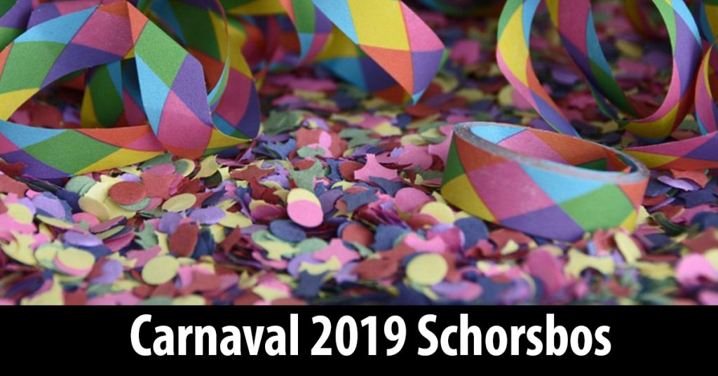 Schorsbos-2019, Carnaval