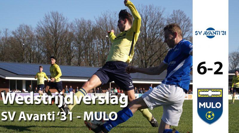Avanti Mulo wedstrijdverslag