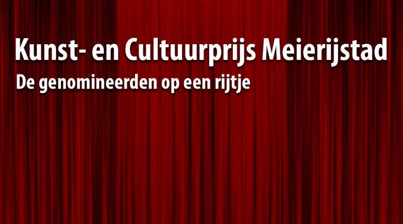 Kunst en cultuurprijs 2019