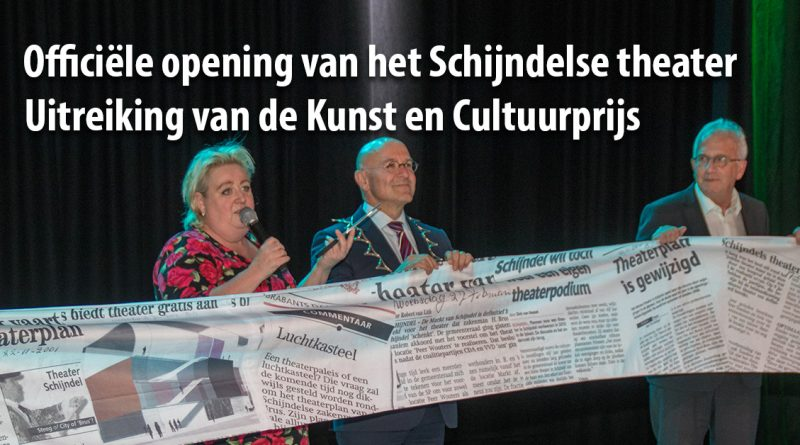 Officiele opening theater schijndel
