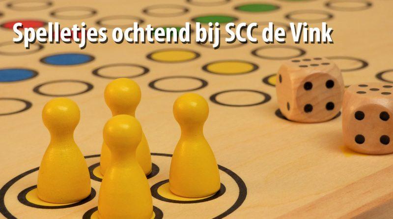 Spelletjes ochtend bij SCC de Vink