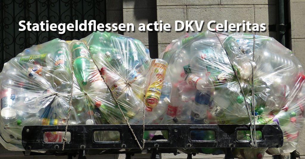 Statiegeldflessen actie DKV Celeritas