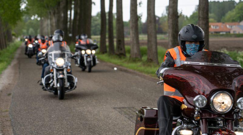 motorrijders in wijbosch