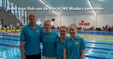 Brons voor Rob van de Ven bij NK Masters zwemmen