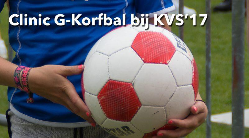 Clinic G-Korfbal bij KVS'17