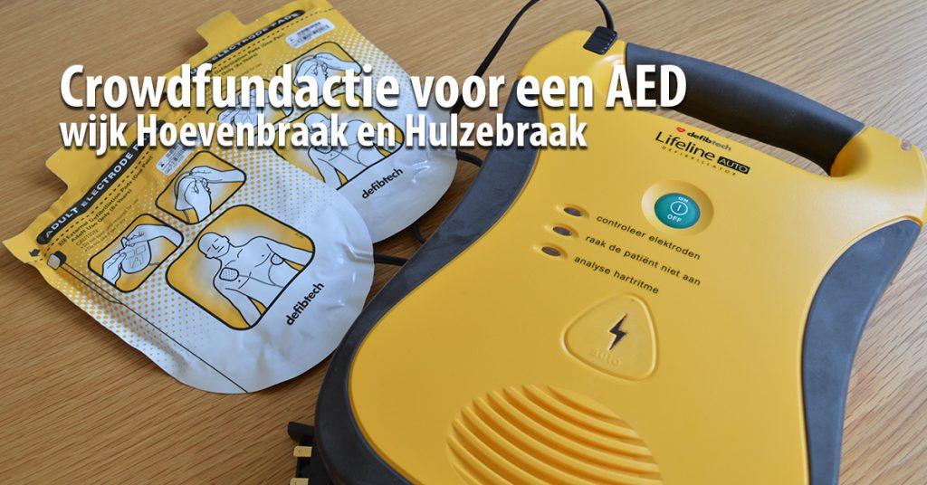 Crowdfundactie voor een AED