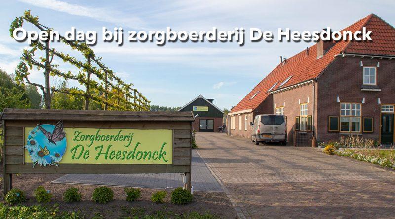 Open dag bij zorgboerderij De Heesdonck