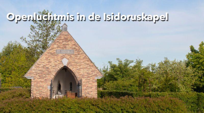 Openluchtmis in Isidoruskapel bij Zorghoeve 't Binnenveld