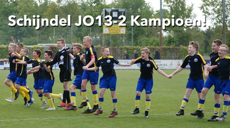 Schijndel JO13-2 Kampioen!
