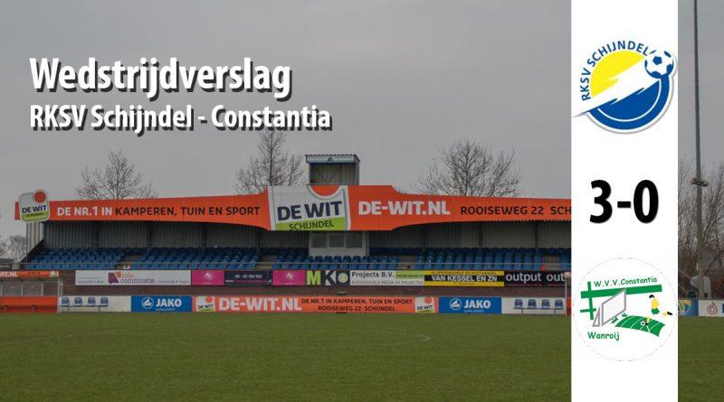 Foto Wedstrijdverslag wedstrijd RKSV Schijndel - Constantia