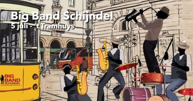 Big Band Schijndel 5 juli - 't Tramhuys