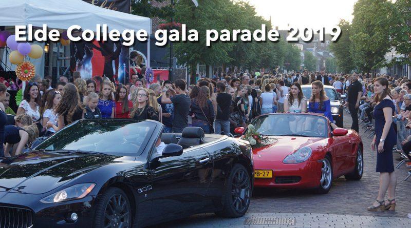 Elde college gala parade 2019