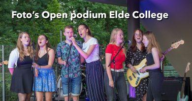 Foto's Open podium Elde College
