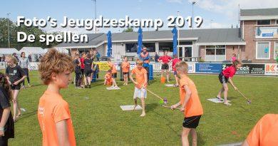 Foto's jeugdzeskamp Schijndel 2019 de spellen