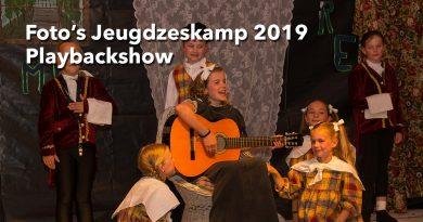 Foto's jeugdzeskamp Schijndel 2019 playbackshow
