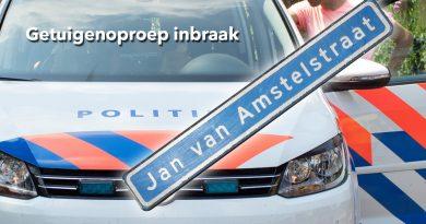 Inbraak Jan van Amstelstraat