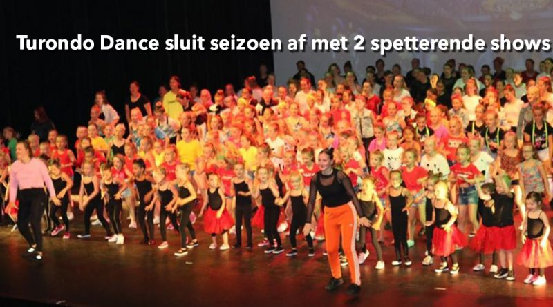 Turondo Dance sluit seizoen af met 2 spetterende shows