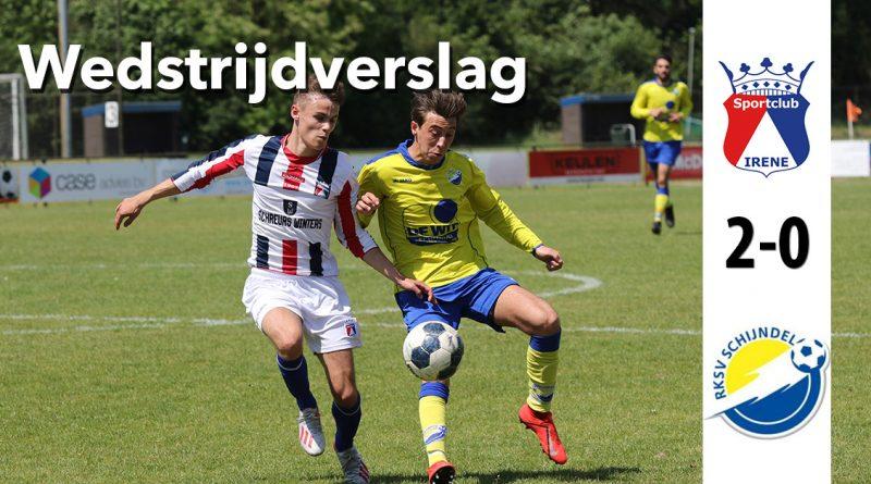 Wedstrijdverslag wedstrijd SC Irene - RKSV Schijndel