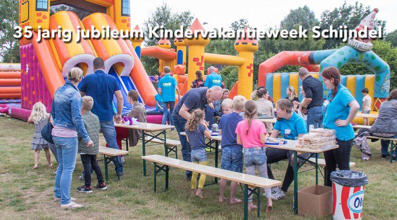 35 jarig jubileum Kindervakantieweek Schijndel